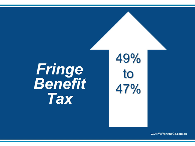 Higher Fringe Benefits Tax – How Does It Affect Your Business?