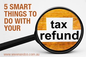 5 smart things to do with your tax refund - image