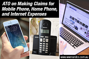 ATO's Guidance For Phone And Internet Expenses Claims