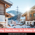Holiday Home Rental Tax Deductions – ATO Warnings