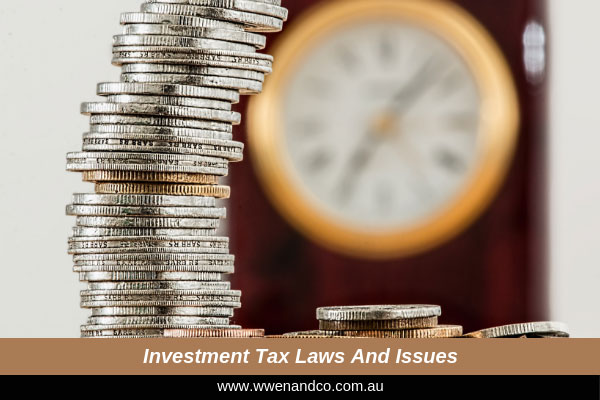 Investment And Tax Laws