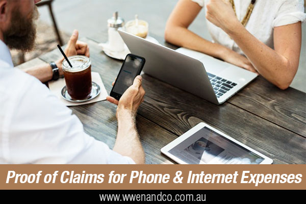 Proof Of Mobile, Home Phone And Internet Expenses