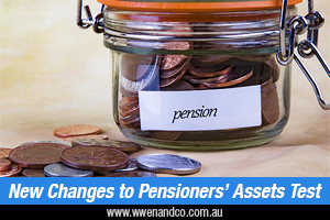 Recent Changes To Pensioner Assets Test