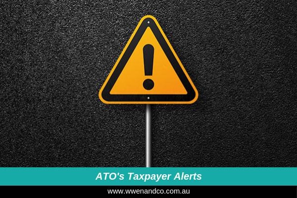 ATO Taxpayer Alerts