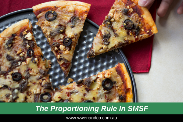 The Proportioning Rule And Your SMSF