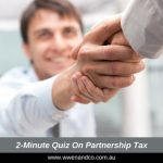2-Minute Quiz On Partnership Tax