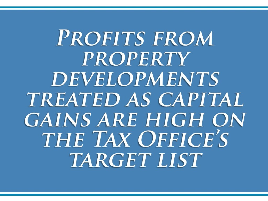 Capital Gains targeted by ATO - image