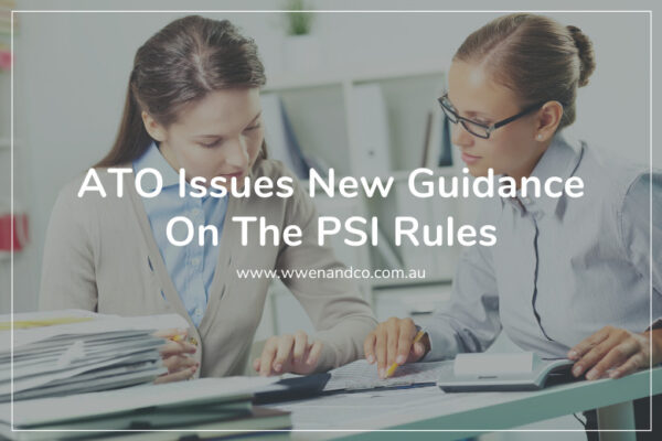 new guidance on the personal services income rules