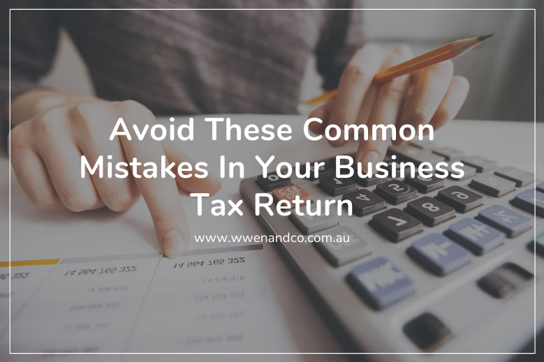 avoid common mistakes in your business tax return