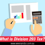 division 293 tax information from the ATO