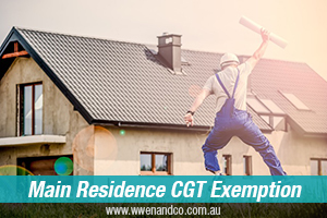 Building A New Home And CGT Exemption