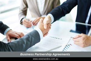 Business partnership agreements - image