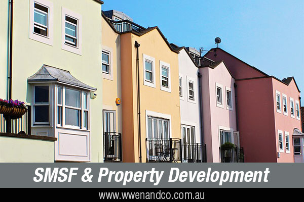 about property development involving an SMSF