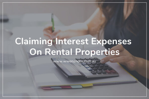 Owners can claim interest expenses on rental properties
