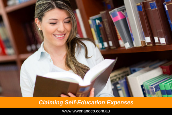 Claiming self-education expenses - image