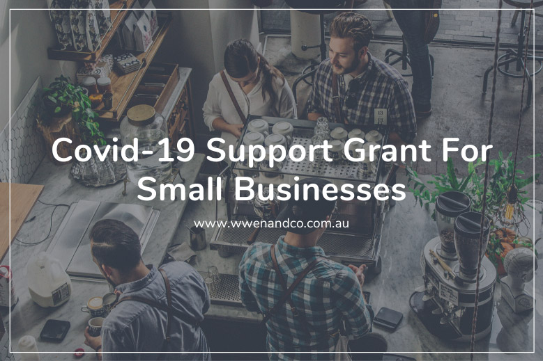 Covid-19 Support Grant for small businesses