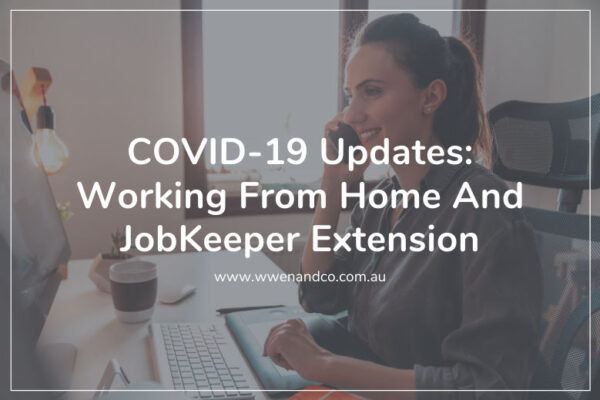 ATO releases new COVID-19 updates on claiming working-from-home expenses and JobKeeper extension