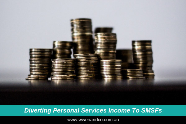 Diverting income earned from personal services to smsfs - image