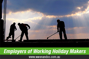 Are You Employing Working Holiday Makers?