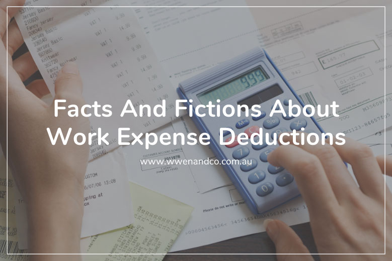 facts-and-fictions-about-work-expense-deductions