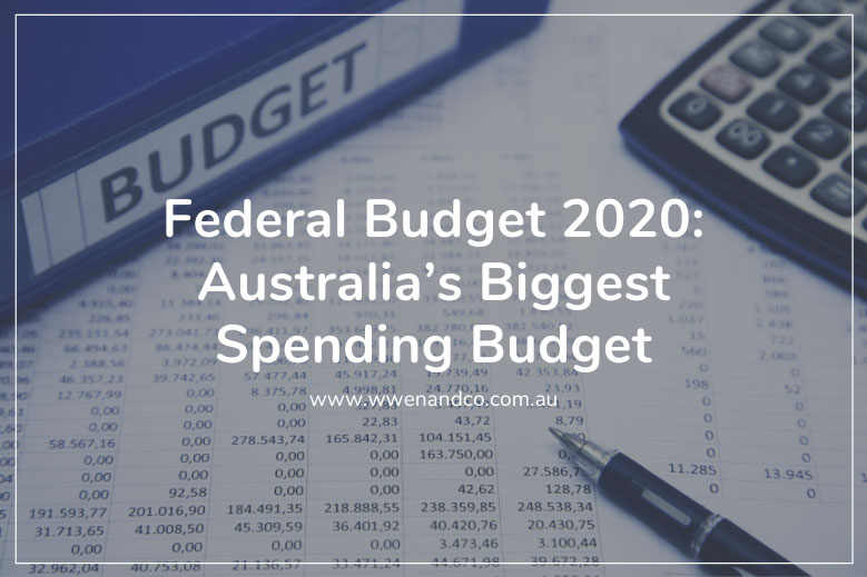 Federal Government releases the Federal Budget for the 2020-2021 income year