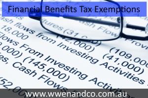 Fringe Benefits Tax Exemptions Scrutinised