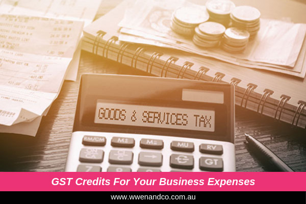 GST credits for you business purchases - image