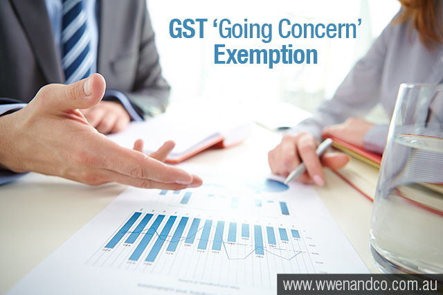 Are you eligible for the 'going concern' GST exemption? - image
