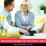 Retirement budget for post-work years - image