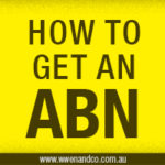how to get an ABN - australian business number