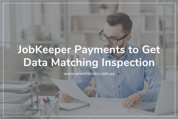JobKeeper Payments to get data matching inspection