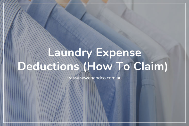 claiming tax deductions for laundry expenses
