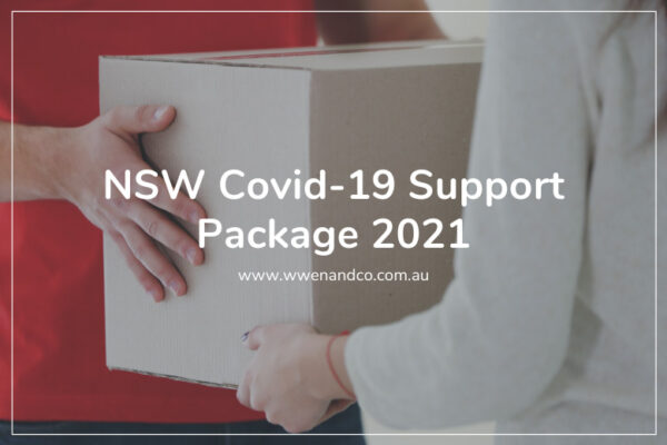 NSW covid-19 support package 2021
