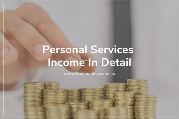 Everything you need to know about Personal Services Income