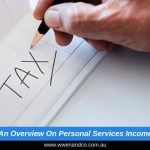 Brief overview on Personal Services Income - image