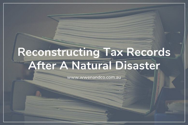 The ATO offers help to individuals reconstructing lost tax records due to natural disasters