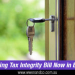 Housing Tax Integrity Bill and investment property owners