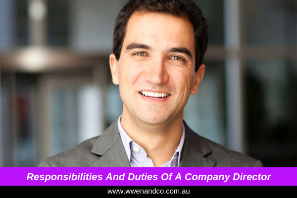 Company director's responsibilities and duties - image