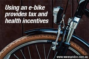 Health And Tax Savings With A Salary-Sacrificed E-Bike!