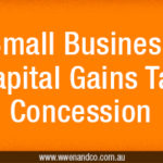 small business capital gains tax concessions - image