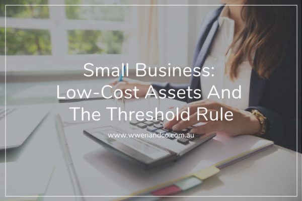 The threshold rule for small businesses