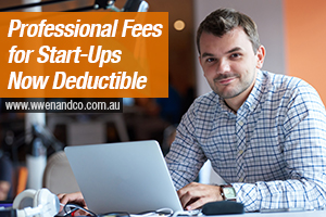Professional Fees For Start Up Small Businesses Are Now Deductible