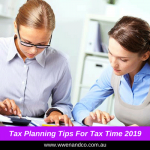 Strategise In Advance | Tax Time 2019
