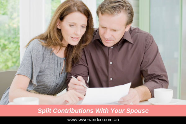 Super contribution splitting with your spouse