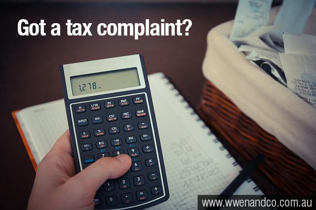 Tax Complaints?