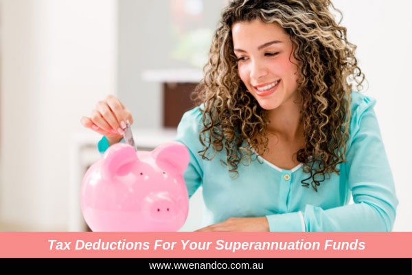 Tax deductions for your superannuation funds - image