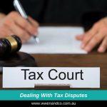 Dealing and managing tax disputes - image
