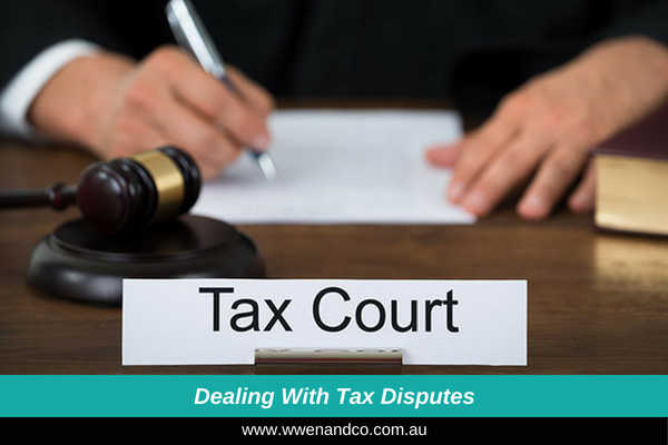 Dealing and managing tax disputes - image