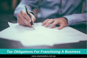 Tax obligations for franchising a business - image