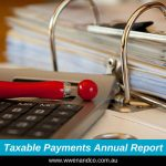 builders taxable payments annual report - image
